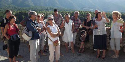 Visite du village avec Betty Pantalacci